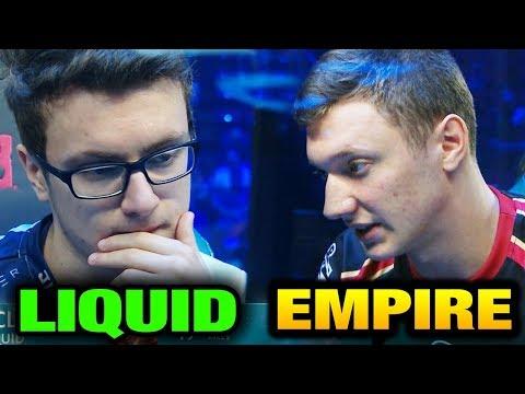 LIQUID vs EMPIRE - PUSH STRAT The International 2017 Main Event [Game 1 bo3]