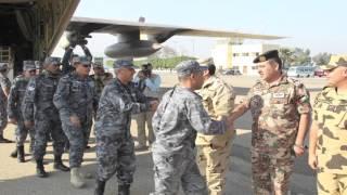 بالفيديو.. شاهد التدريبات العسكرية المصرية الأردنية