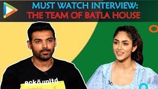 WOW:The Team of Batla House John Abraham Mrunal Thakur Nikkhil Advani Amazing Quiz & Rapid Fire