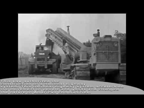 The Interstate Highway and Defense System Act of 1956