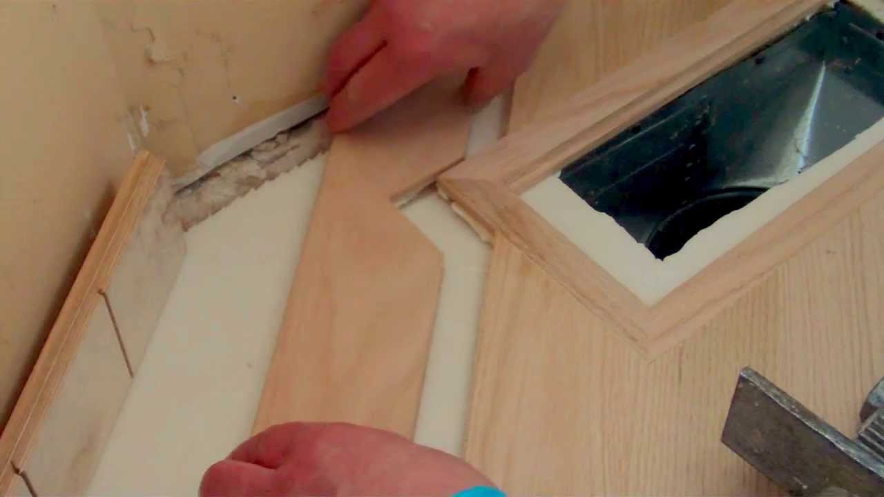 install wood floor vents in floating wood floor youtube. Black Bedroom Furniture Sets. Home Design Ideas