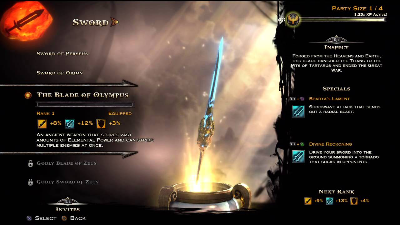 God of War: Ascension - Olympus Weapons Preview