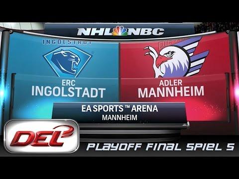 Deutsche Eishockey Liga [DEL] #072 - Adler Mannheim - ERC Ingolstadt (Playoff Finale Spiel 5)