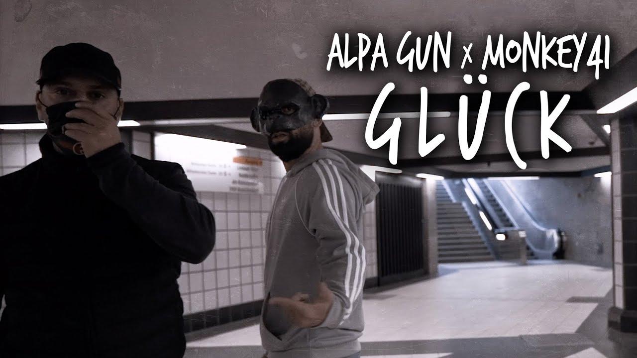 ALPA GUN X MONKEY41 - GLÜCK  (PROD BY MARK TABAK)