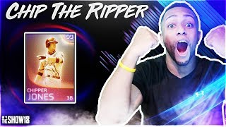 99 IMMORTAL CHIPPER JONES DEBUT |MLB The Show 18 Diamond Dynasty|