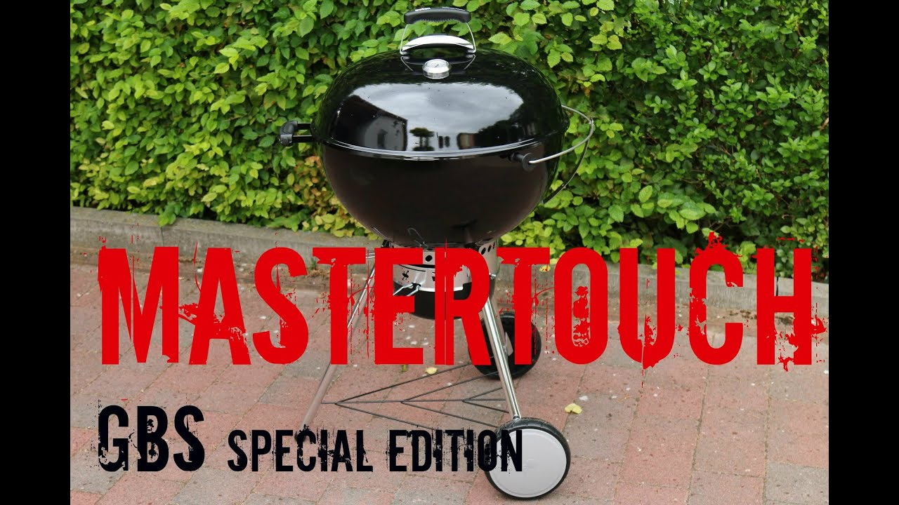 Weber Holzkohlegrill Master Touch Gbs 57 Cm : Weber mastertouch gbs special edition 2015 unboxing aufbau und