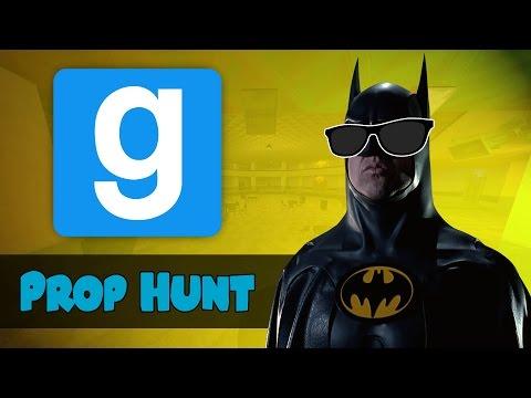 Gmod Prop Hunt Funny Moments - BATMAN'S BLIND