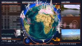 Earthquake 3D Live Seismic Stream - LIVE EARTHQUAKES 24/7