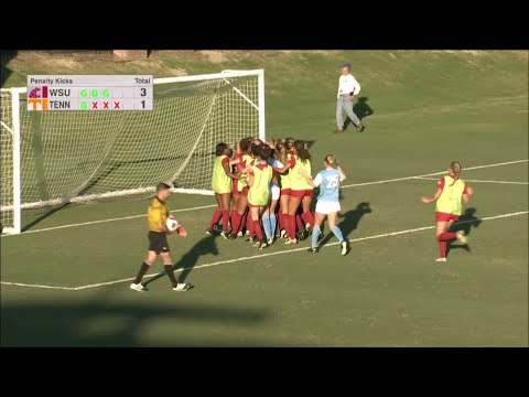 Highlights: Washington State stuns Tennessee on penalty kicks in NCAA Tournament's second round