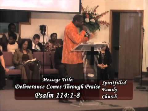 Deliverance Comes Through Praise - Pt 2