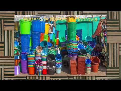 Waterside Market Monrovia; real life Liberia