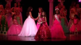 Crowning: Junior Miss Princess of America 2014