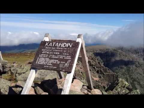 Summit to Mt. Katahdin - Tallest Peak in Maine.