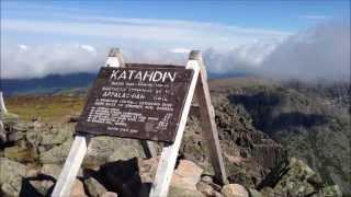 Summit to Mt. Katahdin - Tallest Peak in Maine.