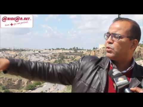 Khlafa Mohammed (Guide) fait l'historique de la ville de Fès (Maroc)