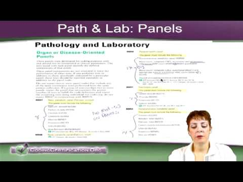 CPC Exam Tips on Path and Lab Panel Codes