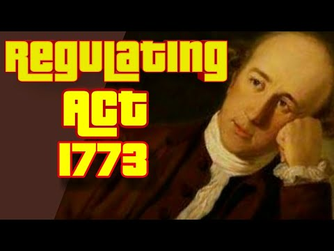 Regulating Act of 1773 - Detailed provisions
