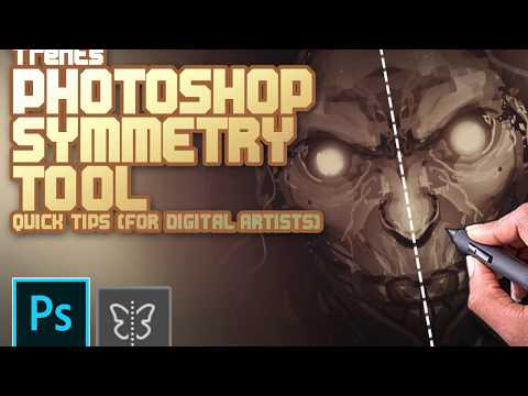 Photoshop CC Symmetry Tool (Digital Artist Cheats)