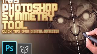 Photoshop CC symmetry tool (Digital artist Cheats)