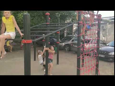 РИА Мелитополь: Тренажерный зал во дворе