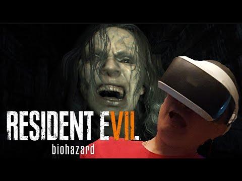 Ужасы в шлеме VR на PS4| Прохождение игры Resident Evil 7 Biohazard #1