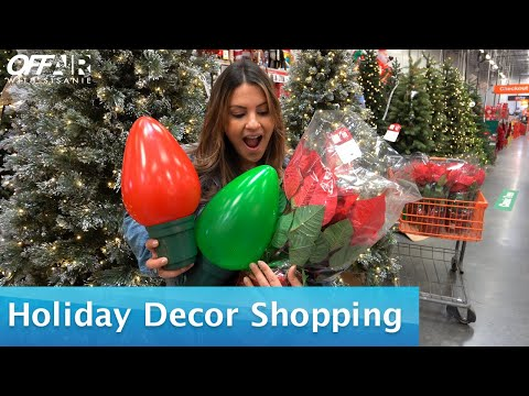 Go Holiday Decor Shopping With Sisanie!