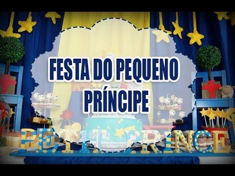 Ideias #Decoração festa Pequeno príncipe