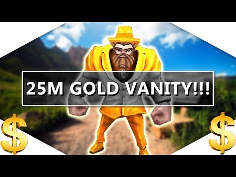 Arcane Legends | GILDED BARON VANITY!!! [25 MILLION GOLD!]