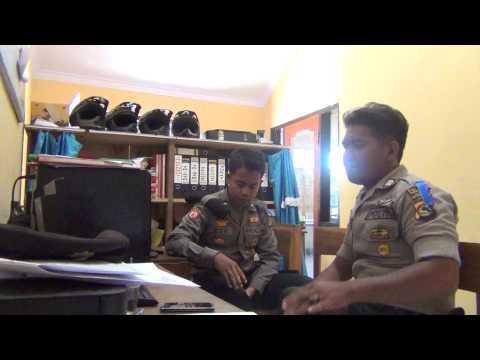 Polisi sumbawa nyanyi lagu sumbawa ( Melong Rasate )