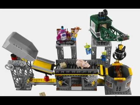 Trash Compactor Reviews trash compactor escape - lego toy story 3 stop motion review set