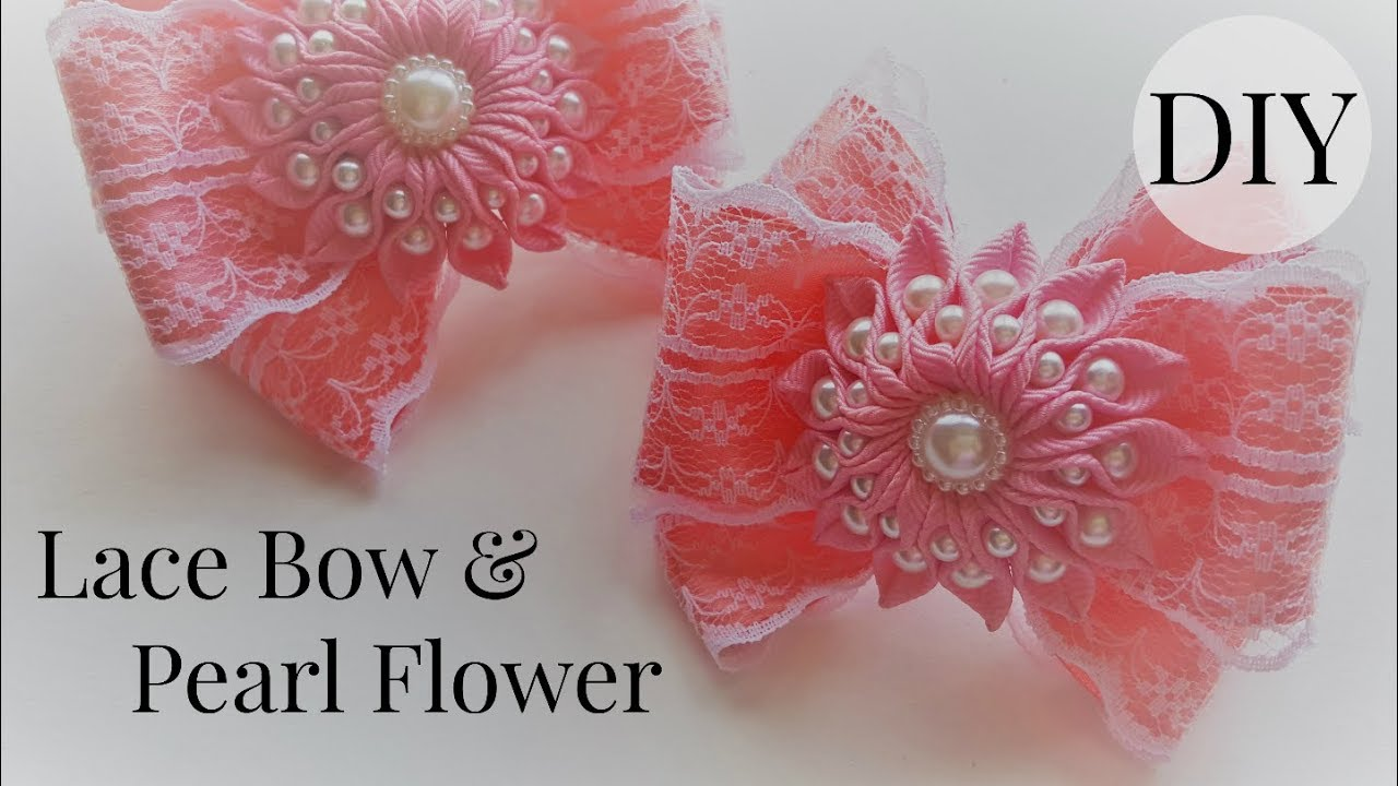 diy no sew ribbon flowers - photo #40