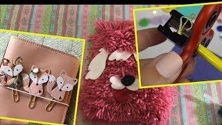 DIY School supplies!  Easy DIY crafts for back to school