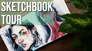 Sketchbook Tour - DIY Sketchbooks!