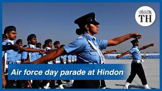 Air Force Day parade at Hindon Air Force station