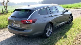 2018 Opel Insignia Sports Tourer 2.0 Turbo D (170 HP) TEST DRIVE