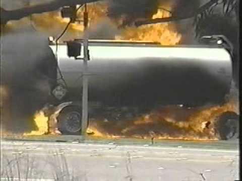 VAFB Tanker Fire Main Gate News.wmv