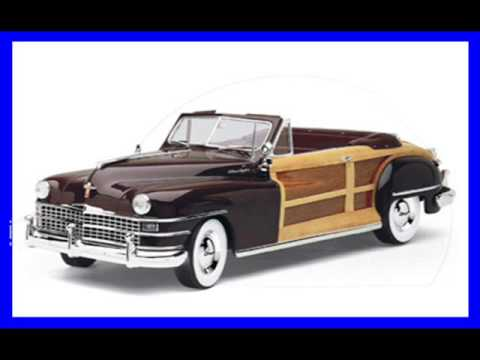 DEMO of a Danbury Mint 1948 Chrysler Town & Country Convertible 1 to 24 Diecast