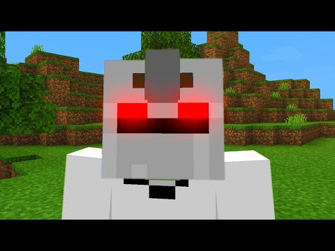 Ghost villager just returned and he is mad in Minecraft.. (SCARED)