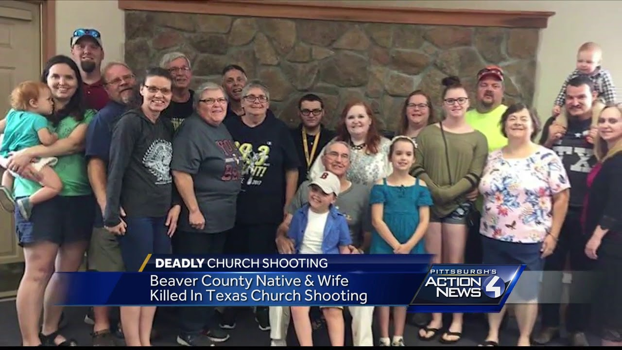 Beaver County native and wife among the victims in deadly Texas church  shooting
