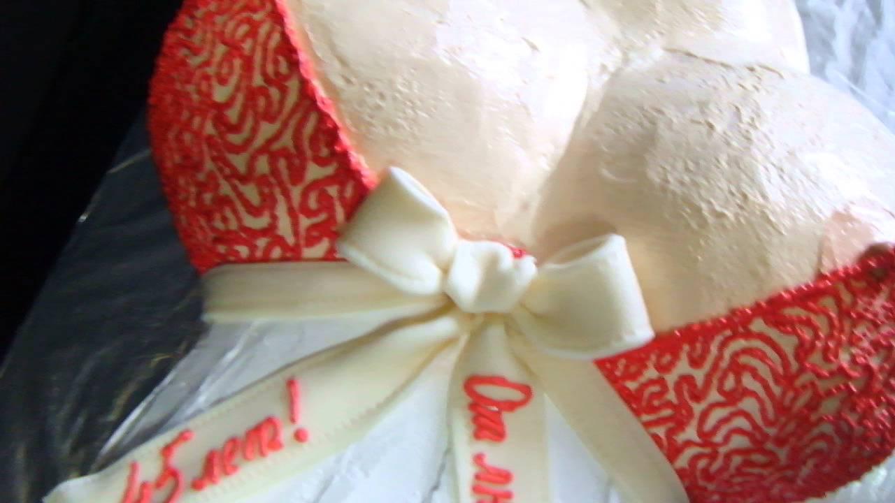 Торт сиськи фото украшенные кремом