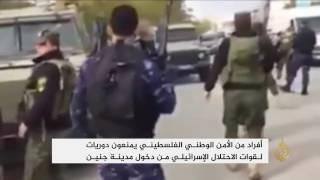 منع دورية لقوات الاحتلال من الدخول إلى جنين