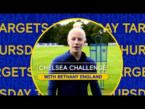 Home Exercises for Kids with Chelsea Players   Targets with Bethany England   Chelsea Challenge Ep.4