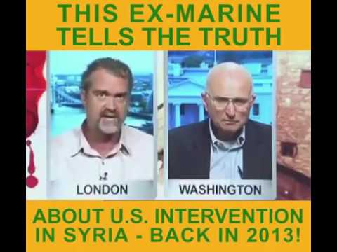 This ex-Marine's powerful analysis of U.S. intervention in Syria from 2013 is relevant today.