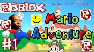Roblox - Mario adventure obby part 1 - With my brother