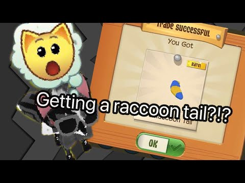TRADING FOR A RACCOON TAIL?!?