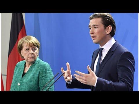 Butt out eu! sebastian kurz fights for national sovereignty as he meets merkel in berlin