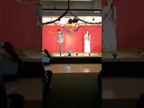 3-Nee Paartha Vizhigal Song Stage Performance By Arish Zacker and Dolly Girl