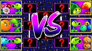 Plants vs Zombies 2 Mod Tournament Every Plant Max Level Pvz 2 Gameplay