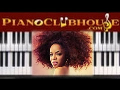 🎹 How to play FALL FOR YOU  Leela James easy piano tutorial lesson