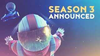 SEASON 3 & BACKPACK COSMETICS ANNOUNCED! (Fortnite Battle Royale)